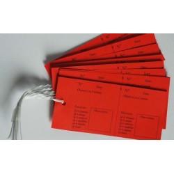 5S : Les étiquettes rouges